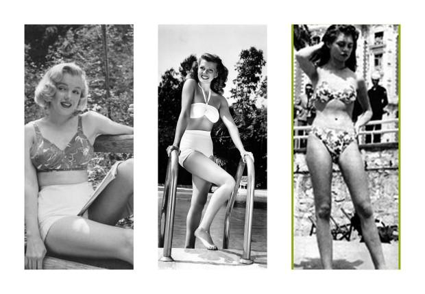 Collage bikinis