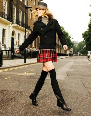 minifaldas tipo kilt