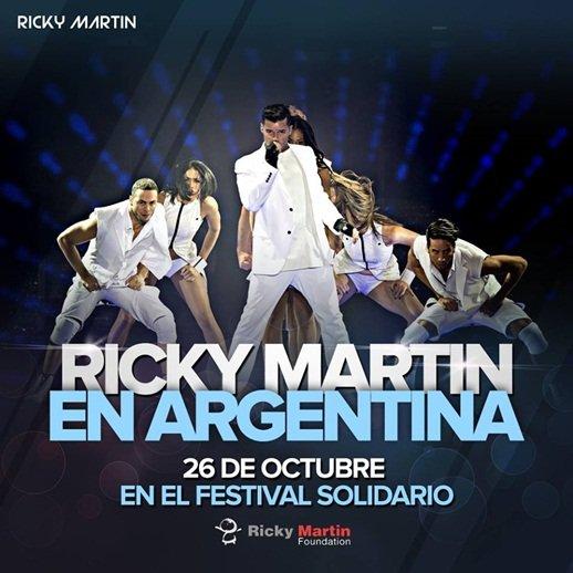 Ricky Martin en Argentina