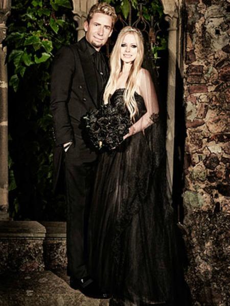 Avril y su novia