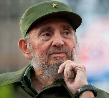 Fidel en acto cdr foto roberto chile 14