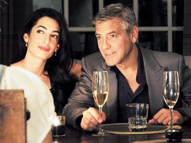 George Clooney y la novia