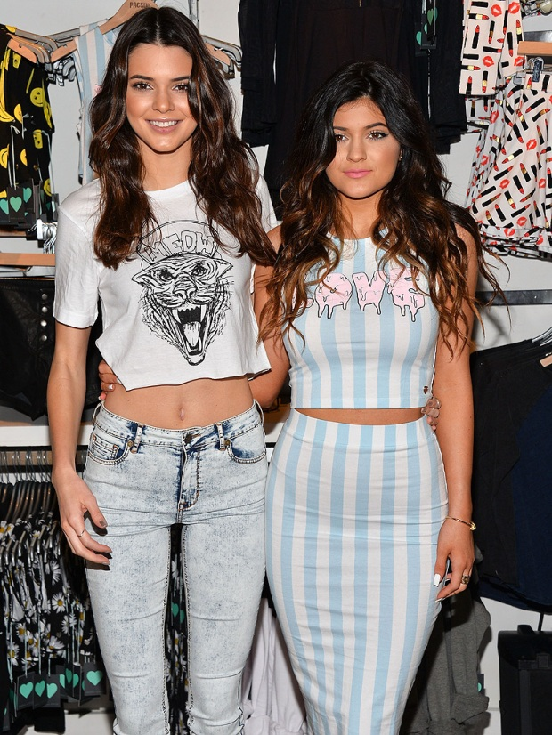 Kendall y Kyle Jenner
