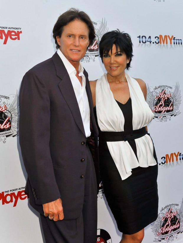 Kriss y Bruce Jenner