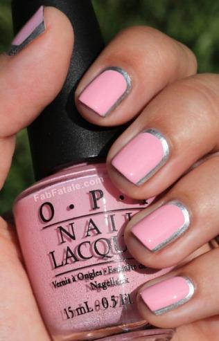 nail-art-diseño-decoracion-uñas-rosa-bode-plateado