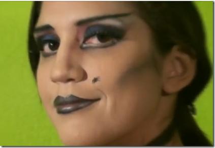maquillaje bruja