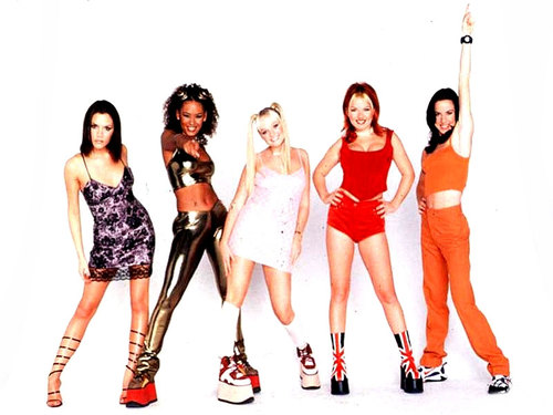 Spice Girls plataforma
