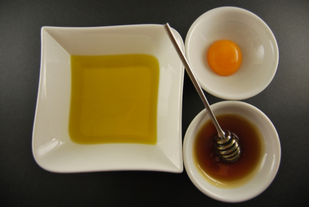 huevo, aceite y miel 2