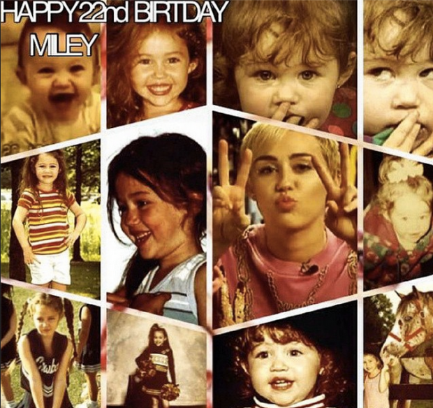 miley cumple 22