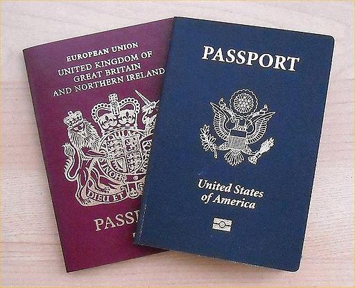 us-and-uk-passports