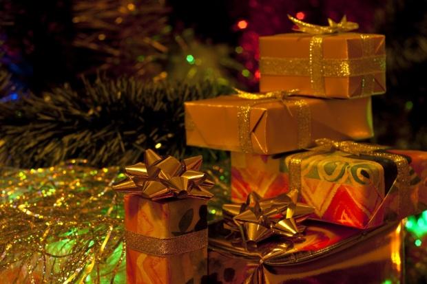 Regalos La Navidad árbol.