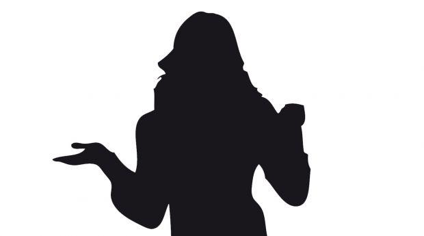 silueta mujer
