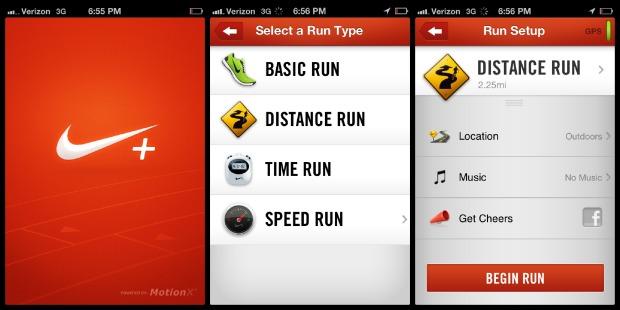 Nike + running