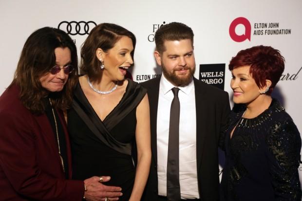 Ozzy Lisa Jack y Sharon Osbourne