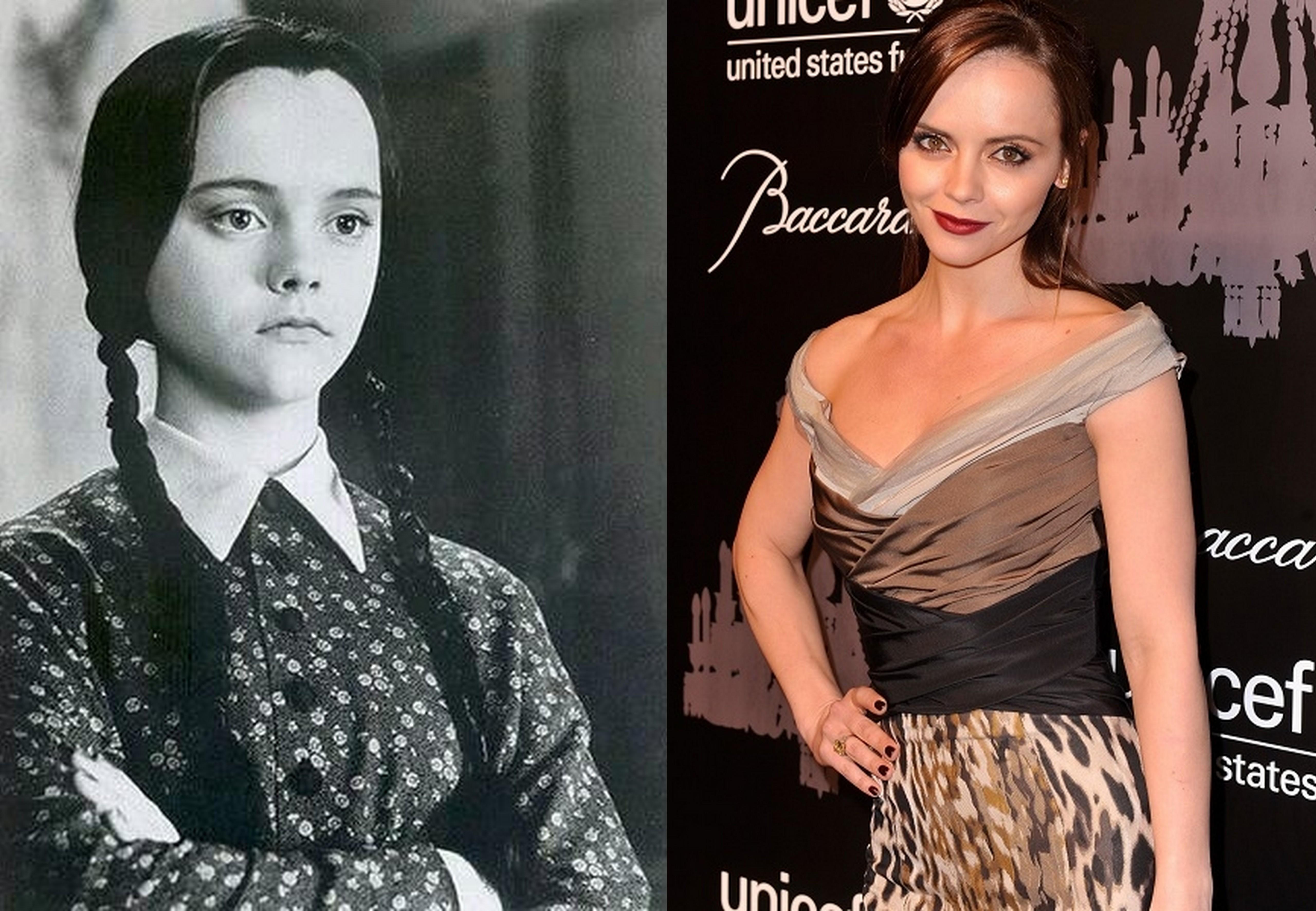 Antes Y Despues De Los Locos Addams Historias De Moda