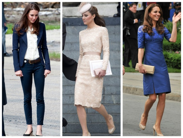 looks kate middleton fashion moda etiqueta protocolo